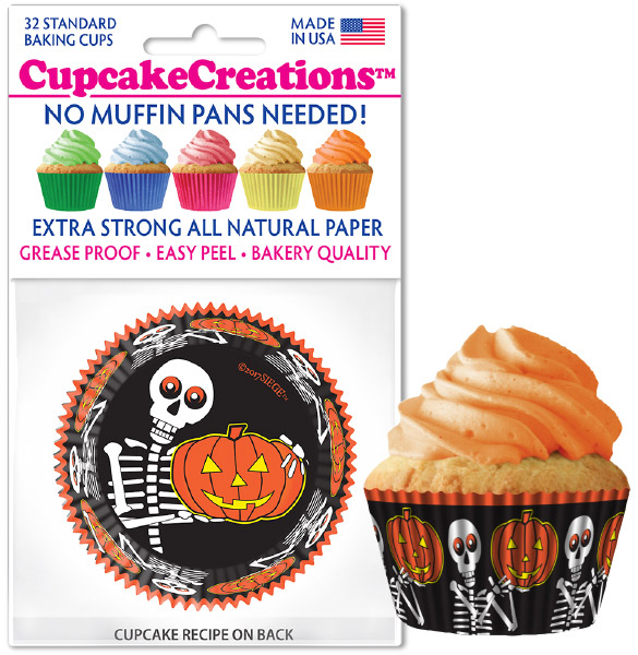 halloween cupcake cups