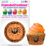 halloween cupcake baking cups