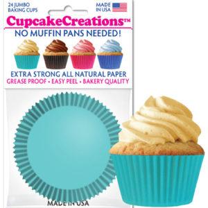 blue cupcake cups