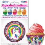 unicorn cupcake cups