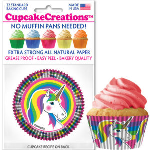 unicorn cupcake cups