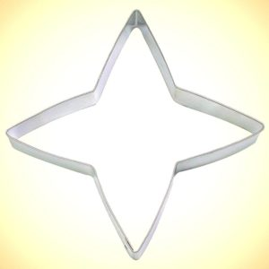 warrior star cookie cutter